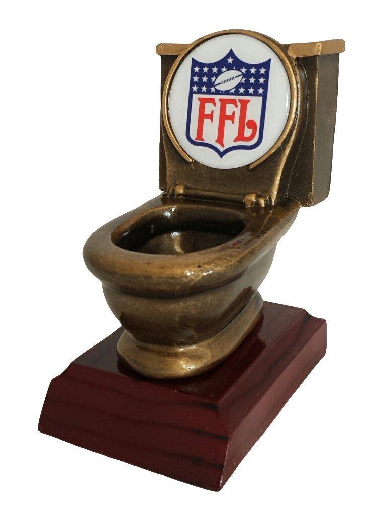 Fantasy Football Toilet Bowl Trophy Ff Nation