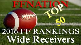 Fantasy Football Rankings Wide Recievers