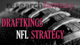 fantasy football draftkings strategy
