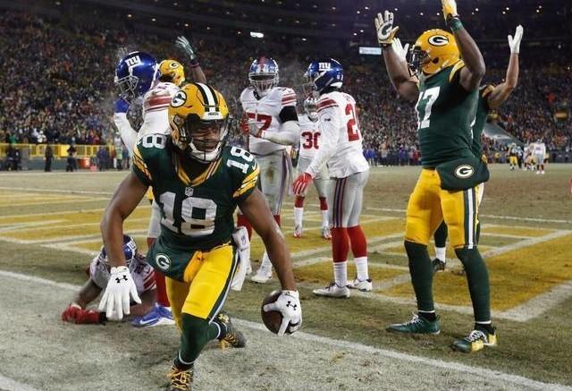Green Bay Packers WR Cobb Touchdown NFL