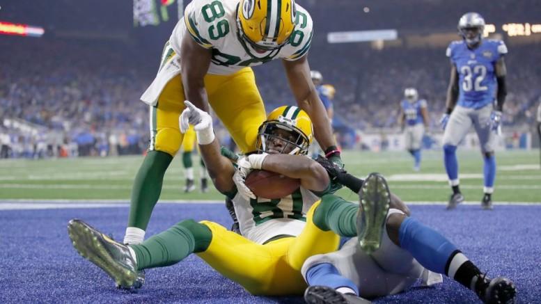 Geronimo Allison Touchdown NFL 2016 Week 17