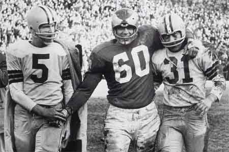 Chuck Bednarik NFL Top Draft Pick Number One Overall NFL Draft