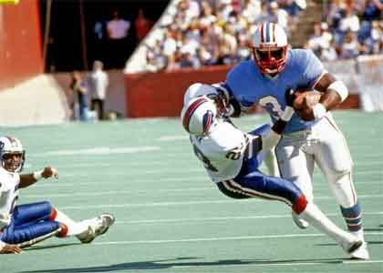 Earl Campbell NFL Top Draft Pick Number One Overall NFL Draft