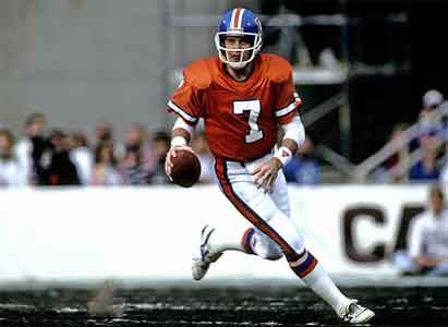 John Elway NFL Top Draft Pick Number One Overall NFL Draft