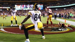 Antonio Brown 2017 NFL regular season most receiving yards prop bets