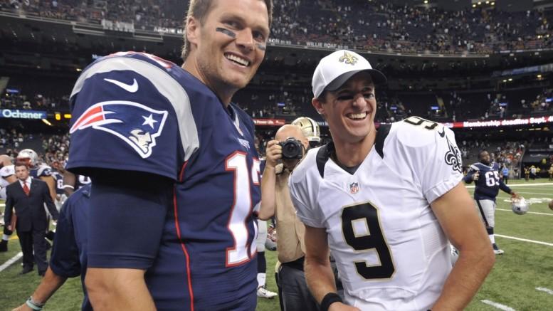 Tom Brady Drew Brees 2017 NFL leading passers NFL prop bets
