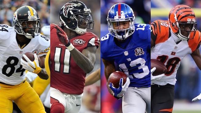 2017 NFL Strength of Schedule (SoS) – Wide Receivers